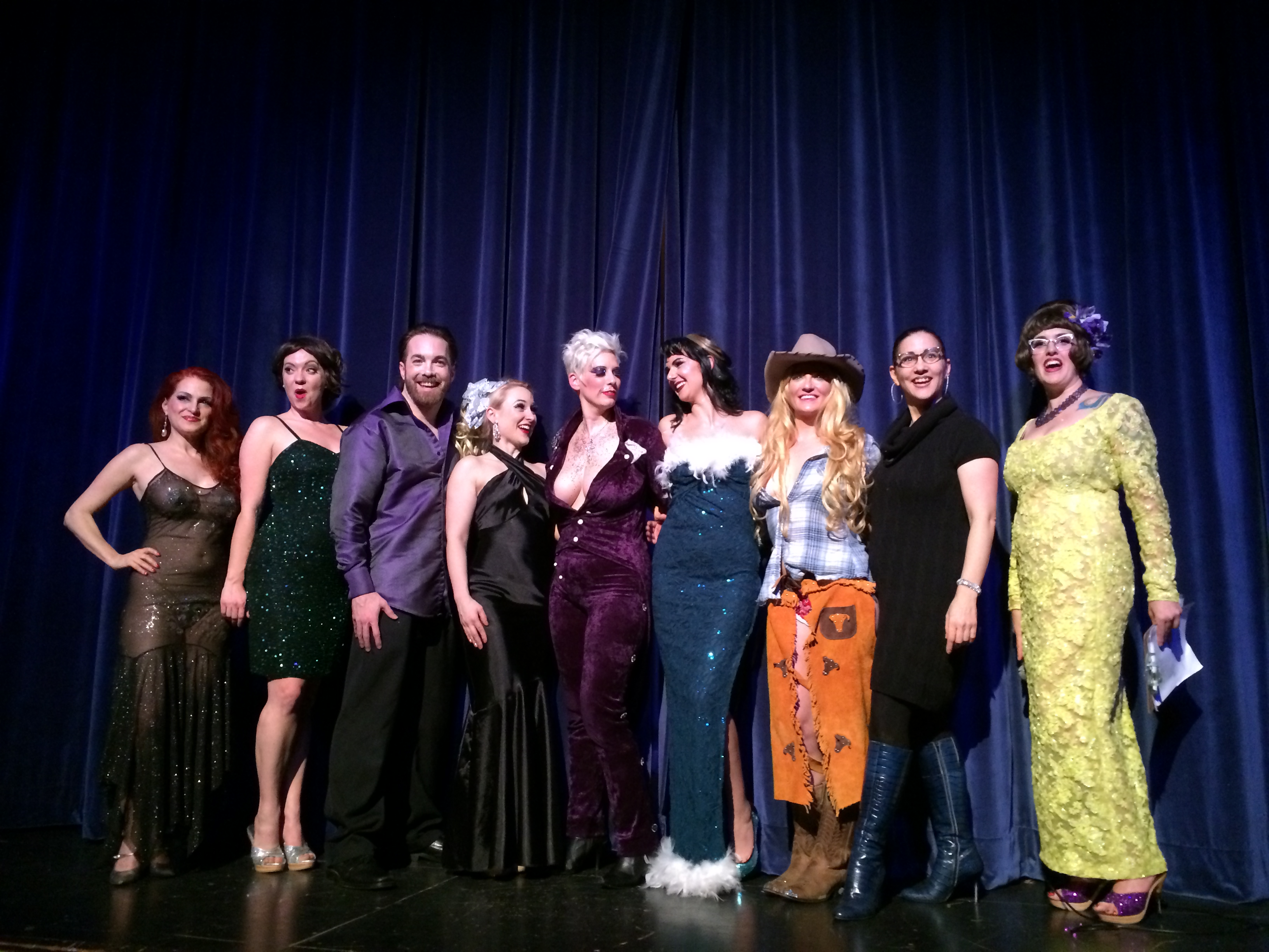 Academy of Burlesque alumni invitational 2014 Seattle