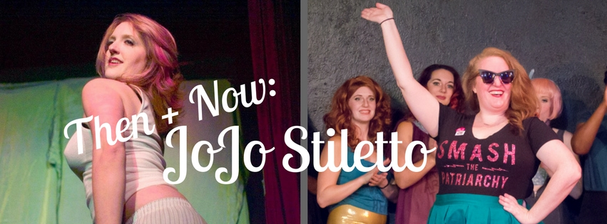 Then + Now: JoJo Stiletto