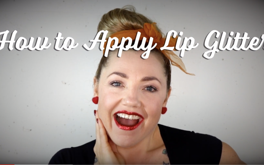 How To Apply Lip Glitter