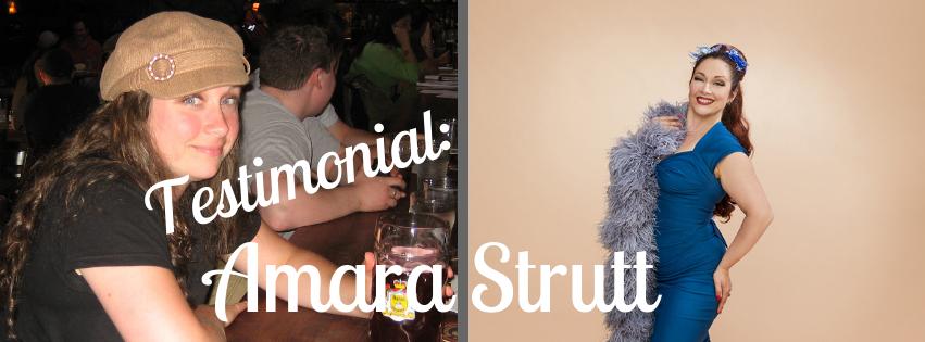 Testimonial: Amara Strutt