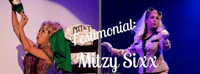 Testimonial: Mitzy Sixx